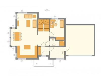 Pomieszczenia parteru