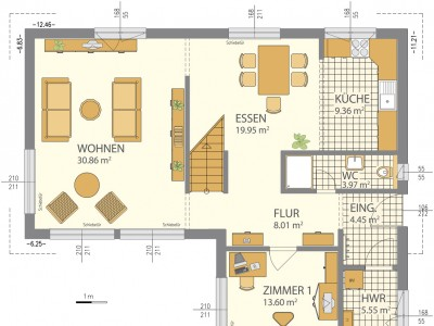 Rzuty parteru piętra